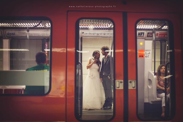 Photos mariage metro